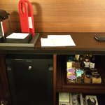 Nepresso and mini bar