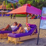 Relax on Horison Beach Club