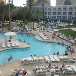 New TropLV pool ... still one of the best on the Strip.