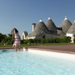 Trulli Paparale & the pool (again)