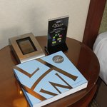 Bedside table in junior suite