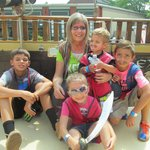 me and my 4 wonderful grandkids!!!!