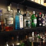 a selection of over 20 gins to try