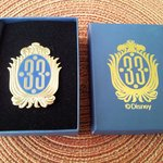 My souvenir Club 33 pin.