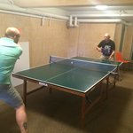 Playing free tabletennis!