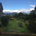 View from the Garden Suite to the Sound of Sleat