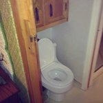 cupboard toilet