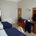 Spacious double room - one double bed and one single