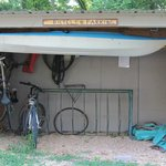 Bike/Cycle parking Kayak storage Facility