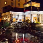 Night time at the Hilton Garden Inn Clarksville