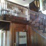 Staircase in the entrance hall