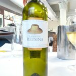 Retsina - a light wine with fa floral bouquet from Geece
