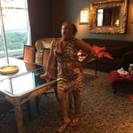 Birthday Girl!!  Fatal Charms Suite Dining Area