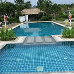Pool and Bar (at bakc side)