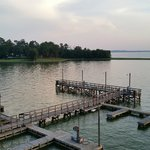 Lake view from the lookout tower at the boat ramp