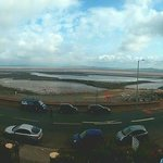 Panorama of Morecambe Bay from my bedroom window