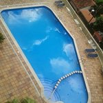 Swimming pool - view from room 501