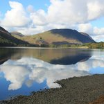 Buttermere Lake from below Hassness House