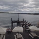 The pier where the last passengers for Titanic left from cobh Ireland.