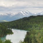 View of Kenai River from Lodge
