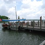 boat dock to the Magic Kingdom