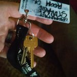 This is the master key for the Gillette, WY Comfort Inn