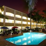 Hotel Recreational Amenities include: Heated swimming pool, Whirlpool spa, Fitness center with d