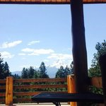 View from the deck - John Wayne room