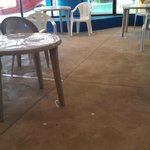 "Waterpark ""snack area"" - Dear Hotel, Please clean the floors DAILY!"