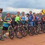 Our Group riding from Chang Mai to Chang Rai