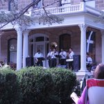 The Porch/Gundry House~just a few blocks away from Dairyland was free live entertainment.