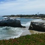 Natural Bridges State Beach Foto