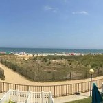 from oceanfront balcony