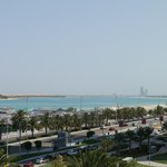 Room with a view of the gulf and corniche