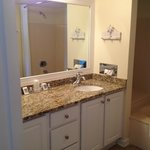 Master bathroom, double sinks unit 701