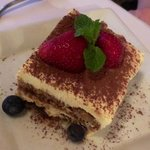 Tiramisu-creamy and dreamy