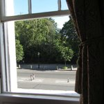 view of St Stephens Green from window