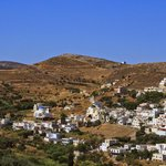 Small village in the center of Naxos