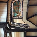 Magnificent staircase from the ground floor looking up