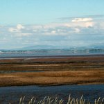 View across to Morecambe