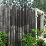 Our Villa's Private Bamboo Fencing - Very Romantic
