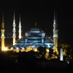 View from our room of the Blue Mosque