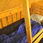 Upstairs single bunk