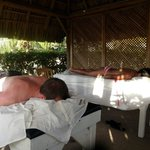 Couples massages on the beach!