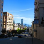 Walk to the top of Mason Street for a great vew of Alcatraz