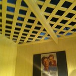 lattice ceiling