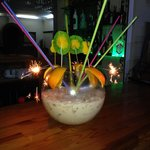 Jakes amazing Fishbowl Cocktail