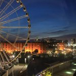 Liverpool Eye with Albert Dock and Liver Buildings
