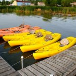 Kayaks for the guests
