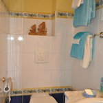 Shower room with Chambre Le Lot (Bleue)